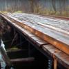 Винтовые сваи в постройках причалов и мостов